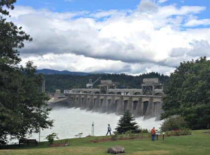 Bonneville Dam, June 2014.  I took this photo on a trip with my 3 granddaughers.